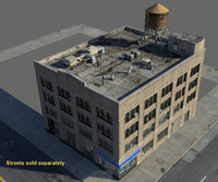 fbx building architectural streets