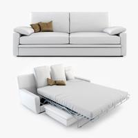 maya biba salotti piuma sofa