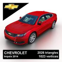 2014 chevrolet impala sedan 3d 3ds