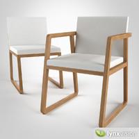 midori chair armchair 3d obj