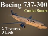 maya boeing 737-300 cja