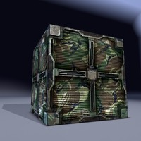 maya military metal cargo box