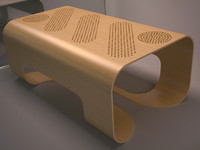 NORDSK ORGO COFFEE TABLE 2012