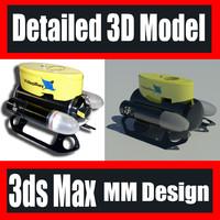 3d model videoray scout