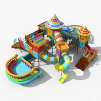 3d huge playground