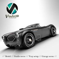 Austin Healey 1004 V8 custom