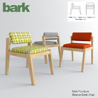 bark - beacon desk chair obj