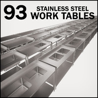 Work Table Stainless Pack