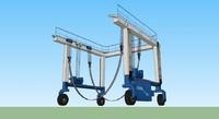 3dsmax crane boats