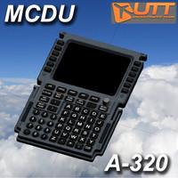 3d mcdu control model