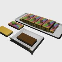 chocolate mint 3d model