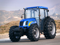 3d new holland t4050 model