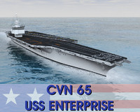 cv 65 enterprise 3d obj