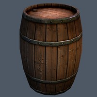Wooden Barrel, Game ready!