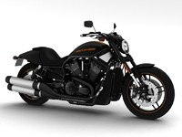 harley-davidson v-rod night rod 3d model