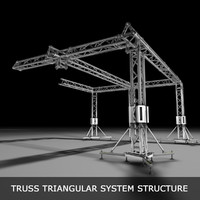 truss structures 3d 3ds