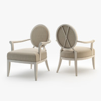 barbara barry arm chair max
