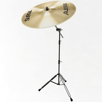 cymbal crash 3d model