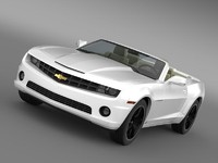 chevrolet camaro euversion 2012 c4d