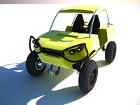 buggy utv commander 3d 3ds