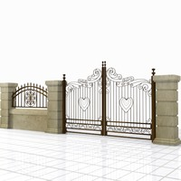 Wrought Iron Gate 22