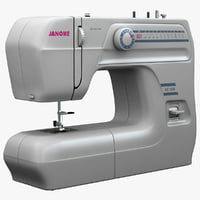 3ds janome re1306 sewing machine