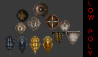 Medieval Shield Bundle