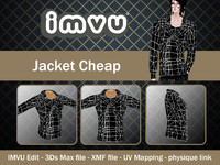 3d jacket imvu file model