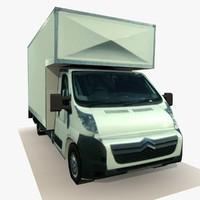 3d truck t model