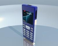 generic cellphone obj