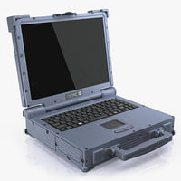 3d model getac a790 ultra rugged