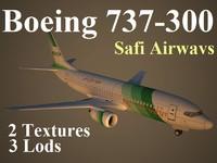 3dsmax boeing 737-300 swf