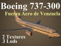 3d model boeing 737-300 fav