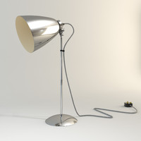 3d max hector metal desk lamp