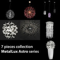3d model light 7 astro metallux