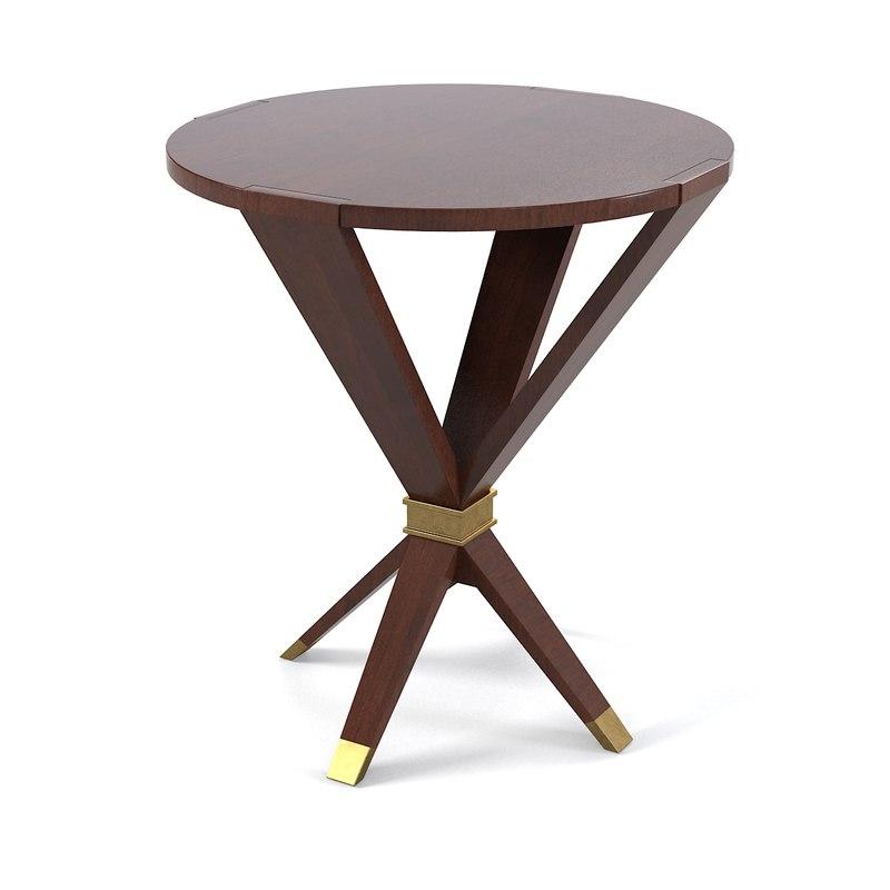 Baker Thomas Pheasant Coffee Table: 3d Model Baker Thomas Pheasant