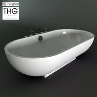 bath - burgbad crono 3d 3ds