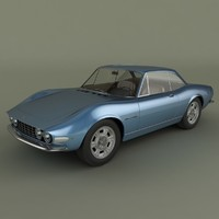 3d max fiat dino coupe speciale