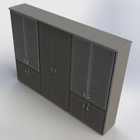 3dsmax office cabinet furniture