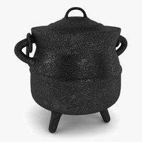 3ds max iron pot