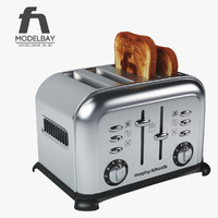 morphy richards accents toaster 3d max