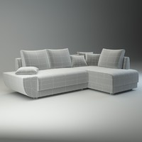 3d model sofa martina basic