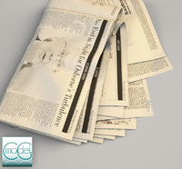 wall street newspaper 3d 3ds