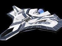 3d lancer spaceship