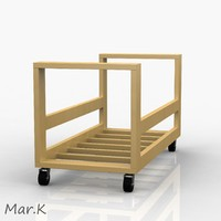 carpentry table 3d model