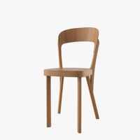 robert chair thonet 107 3d dxf