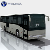 3d model of temsa tourmalin bus games