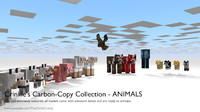 [Minecraft] Animals - Crinkle CCC - Minecraft rigged models