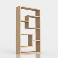 Bookshelf 1 ash wood