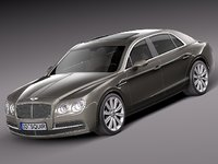 2013 2014 sedan luxury 3d 3ds